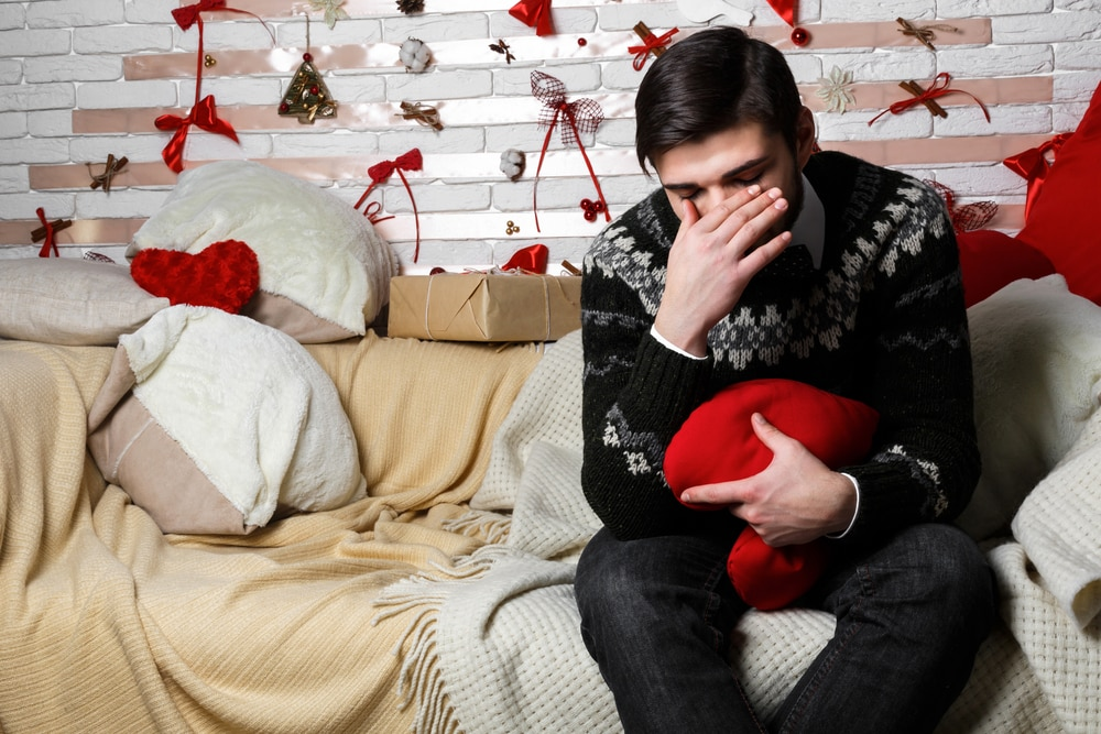 feeling lonely and depressed on valentines day